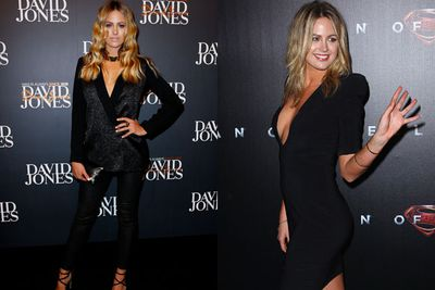 The lady is a VAMP!<br/><br/>Leaving the pretty pastels in the past, Jesinta rocked dark lips, punk-rock peplums and plenty of boob after her <I>DWTS</I> stint. <br/>