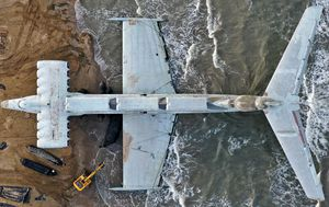 The 'Caspian Sea Monster' rises from the grave