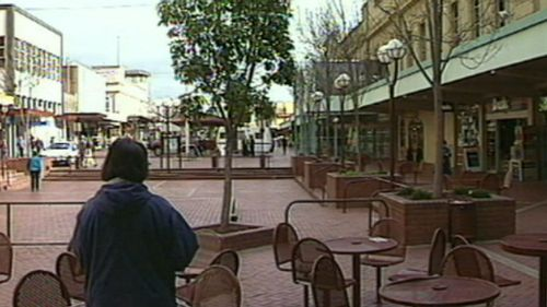 The teenager was stabbed at Geelong's Market Square shopping centre in 1995. (9NEWS)