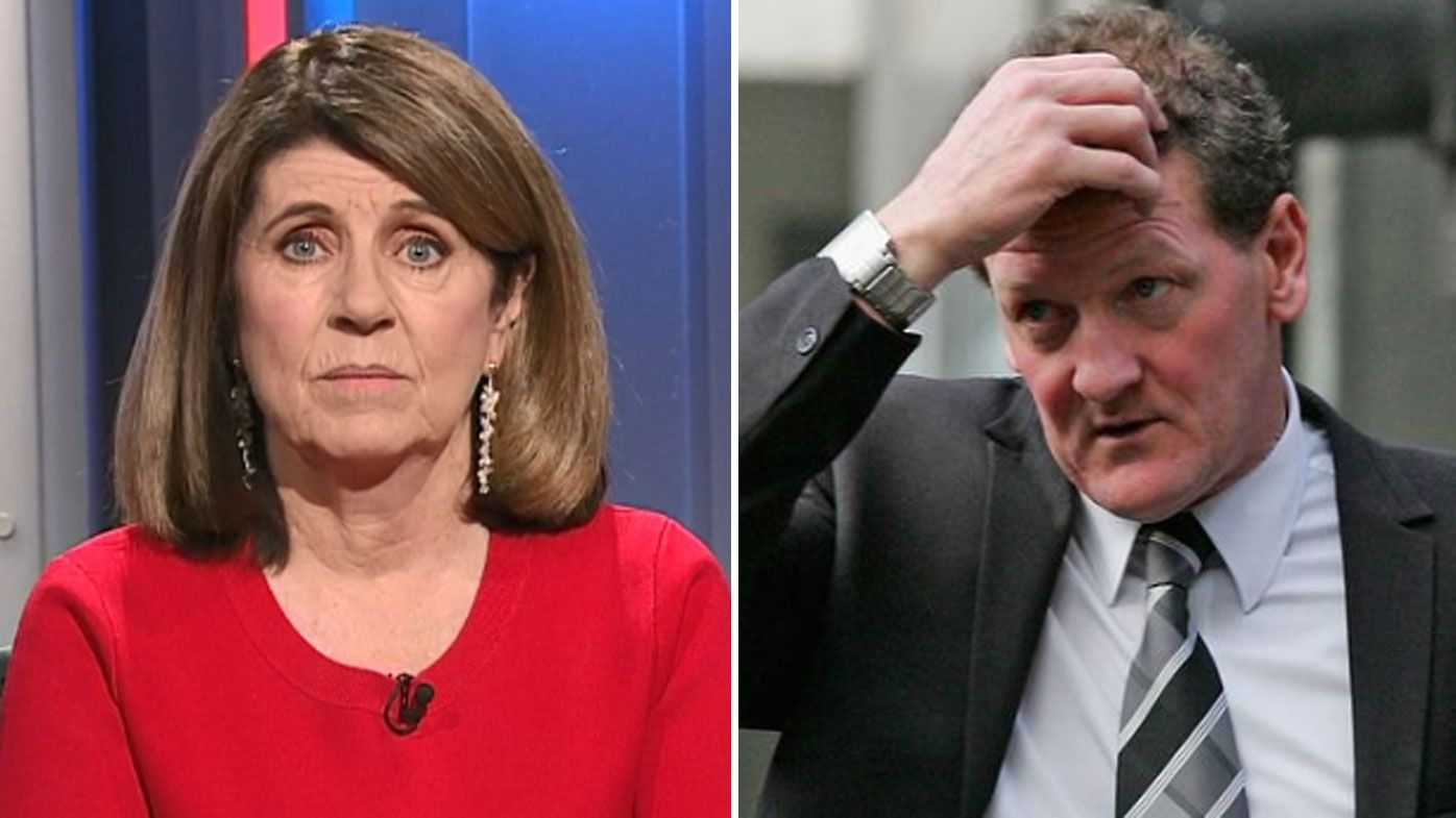 Caroline Wilson slams Ricky Nixon's 'tasteless' linking of downward spiral with broadcaster's death