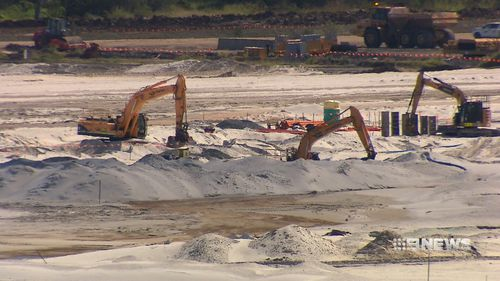 Brisbane's long-awaited second runway will help complete the airport's expanded capacity. (9NEWS)