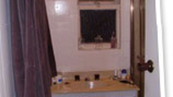 The bathroom - from drab to fab (hopefully!)