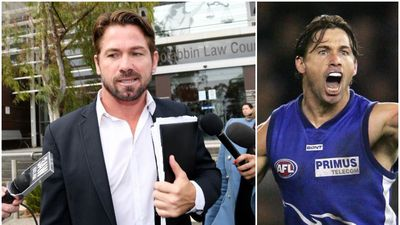 Ex-AFL star fronts court on 'personal and private' charges