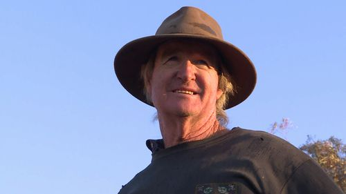 "Les Jones said he sometimes felt like ""walking away"" from the farm. (The TODAY Show)"