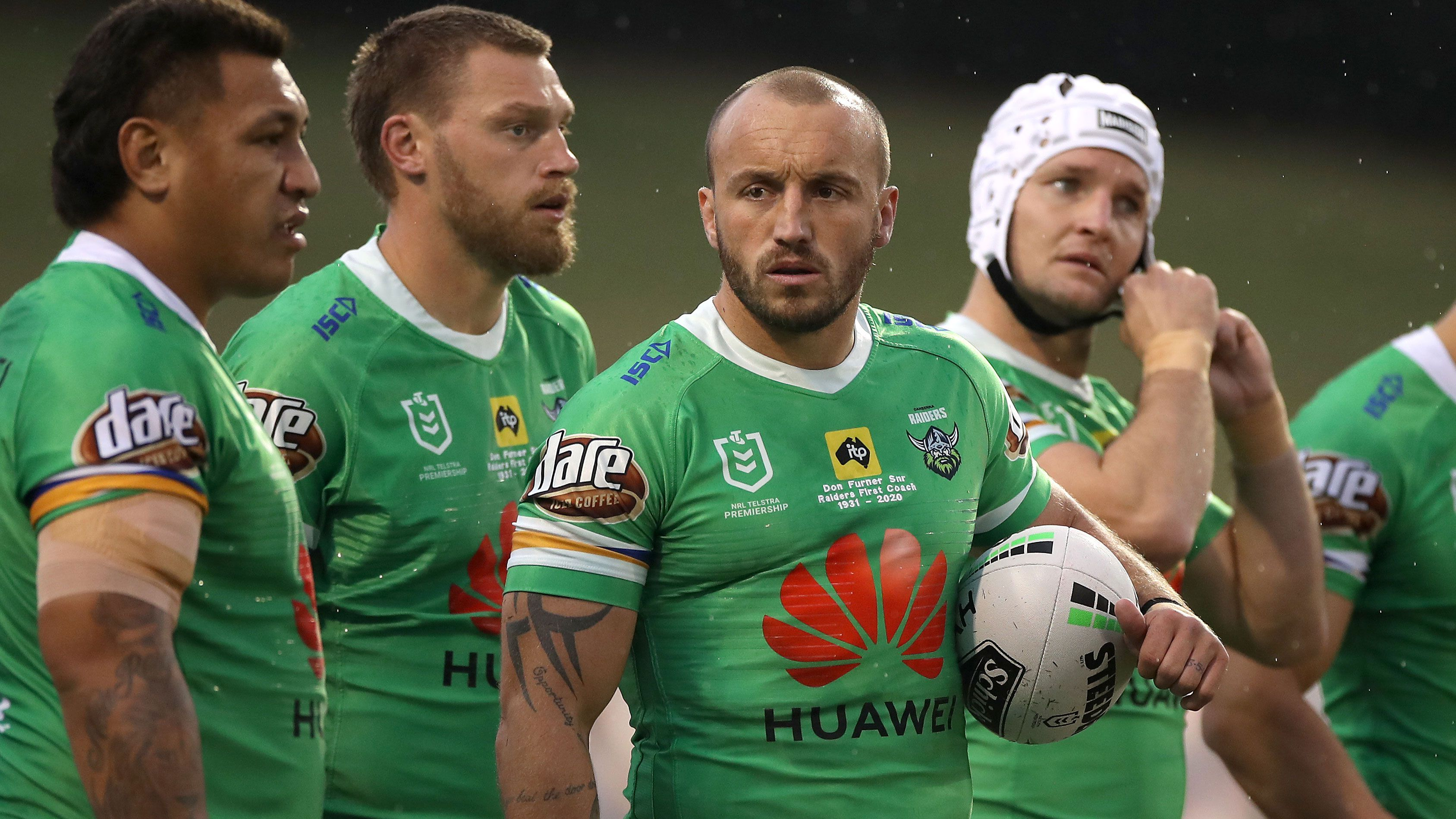 Josh Hodgson clears the air over Raiders captaincy call, speculation around his NRL future