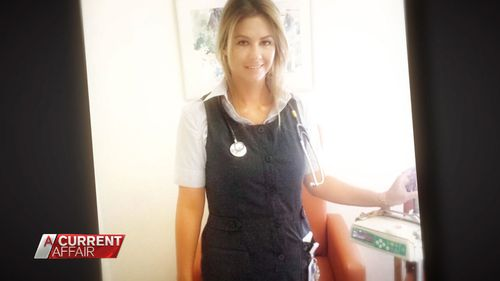 Nurse Tara Seymour.