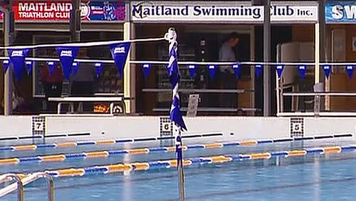 A teenage girl was pulled unconscious from the pool at the Maitland Aquatic Centre this afternoon.