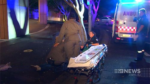 Police were called to the casino early this morning. (9NEWS)