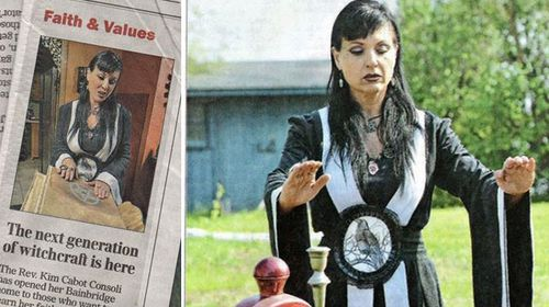 Newspaper 'regrets' promoting wiccan prostitute