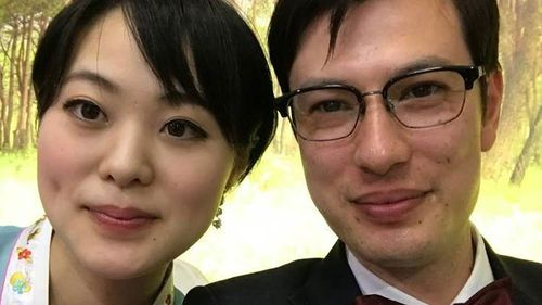 Alek Sigley married a Japanese woman last year.