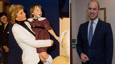 Prince William's touching tribute to his mother 30 years on