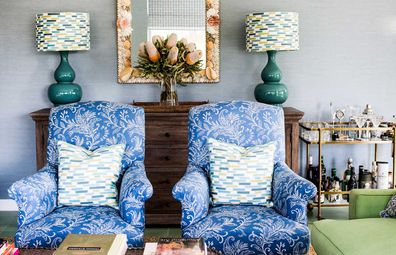 Designer Anna Spiro believes fabric can change the face of a room in an instant.