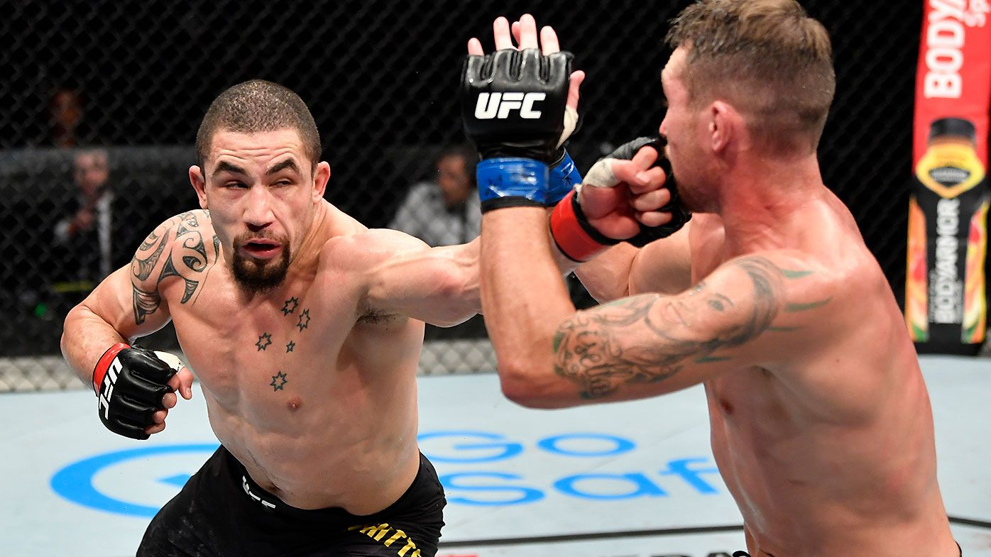 Robert Whittaker stakes claim for Israel Adesanya rematch after win over Darren Till in UFC return