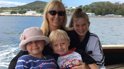 Chloe-May's mother and two siblings died in the accident.