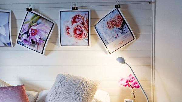 Displaying art in your home