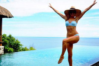 @annaheinrich1: BALI Still fresh in my memory #blueonblue #bali #happydays