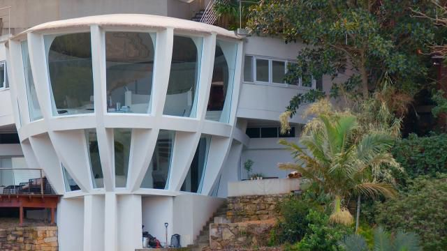 Inside Sydney's iconic space ship home