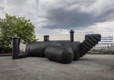 1. Inflatable nightclub