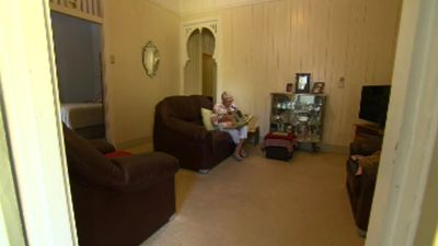 Mrs Richards has fond memories of the home, and of living in the multicultural suburb. (9NEWS)
