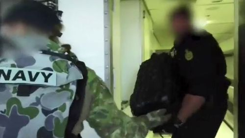 Police were sent to intercept an alleged cocaine smuggling operation. Picture: Australia Federal Police