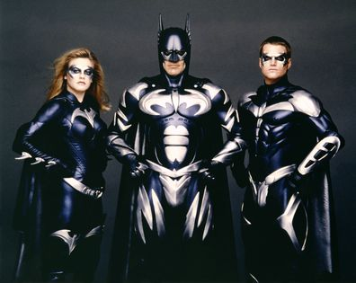 Alicia Silverstone, George Clooney and Chris O'Donnell