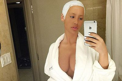 @amberrose: Getting ready for @1oaklv #Vegas