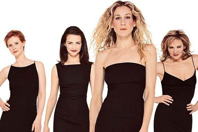 """<B>When it finished:</B> 2004.<br/><br/><B>Why it sucked:</B> Carrie (Sarah Jessica Parker) gets Big. Miranda (Cynthia Nixon) winds up caring for her husband Steve's sick mother. Charlotte (Kristin Davis) adopts a baby. Samantha (Kim Cattrall) settles down with Smith. It's all very """"happily ever after"""" — but surely a show about the ultimate single gals deserves a better ending than """"Women can only be truly happy if they land a man/have a family"""" (or in Miranda's case, """"if they wind up bathing old ladies"""")."""