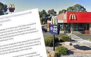 Coronavirus Victoria: McDonald's Mill Park worker tests positive to COVID-19