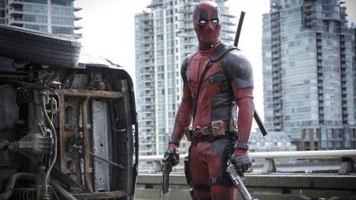 Actor Ryan Reynolds in Deadpool. (AAP)