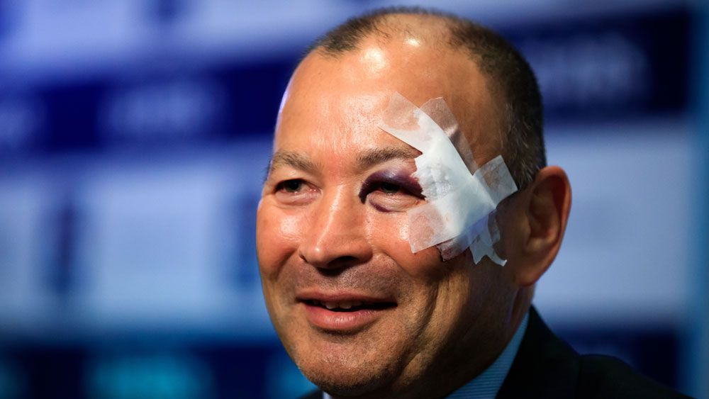 Eddie Jones given non-slip bath mat