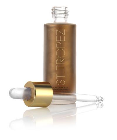 St. Tropez Luxe Facial Oil, $39.99.