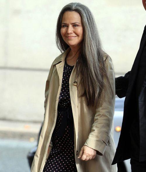 Prince Andrew's ex-girlfriend, actress Koo Stark. (AAP)