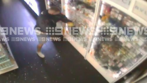 """Police described the robbery as a """"targeted"""" operation. (9NEWS)"""