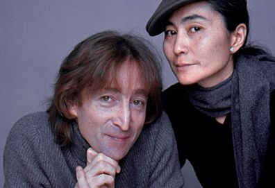 John Lennon and Yoko Ono portrait (Getty)