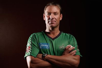 Oh, who are we kidding? The only person in the world who can't be made to look like Shane Warne in the 90s is Shane Warne in 2012...