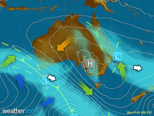 WA and QLD are both being hit by wet weather. (Weatherzone)