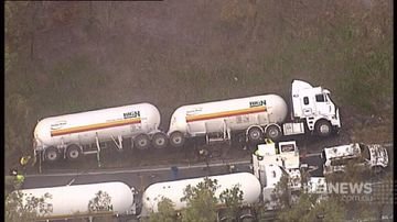 Queensland highway opens after toxic chemical tanker crash