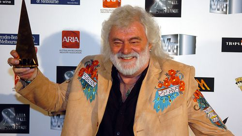 Musician Brian Cadd has been appointed a Member of the Order of Australia for his work over the past 50 years as a singer, songwriter, mentor and producer. Picture: AAP