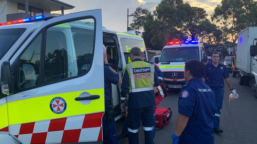 Toddler critical after being found face down in Sydney backyard pool