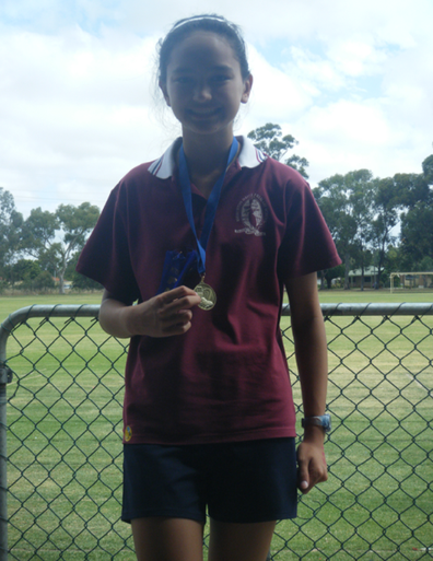 Nadia at school
