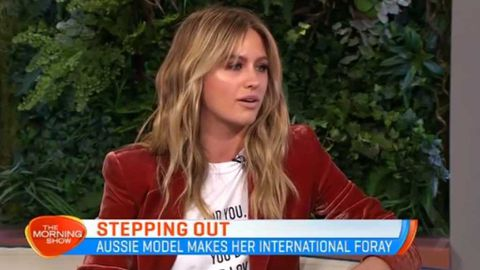 Jesinta Campbell doesn't want to be an international model