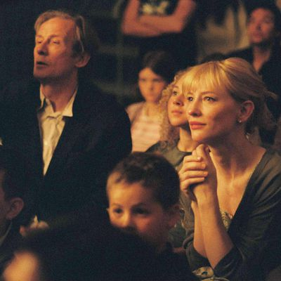 <p>Bill Nighy and Cate Blanchett in <em>Notes on a Scandal</em> </p><p><strong>Age gap:</strong> 19 years, 7 months</p>
