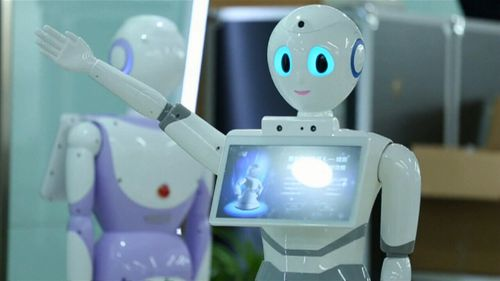The robot could assist with clinical diagnosis and outpatient treatment. (9NEWS)