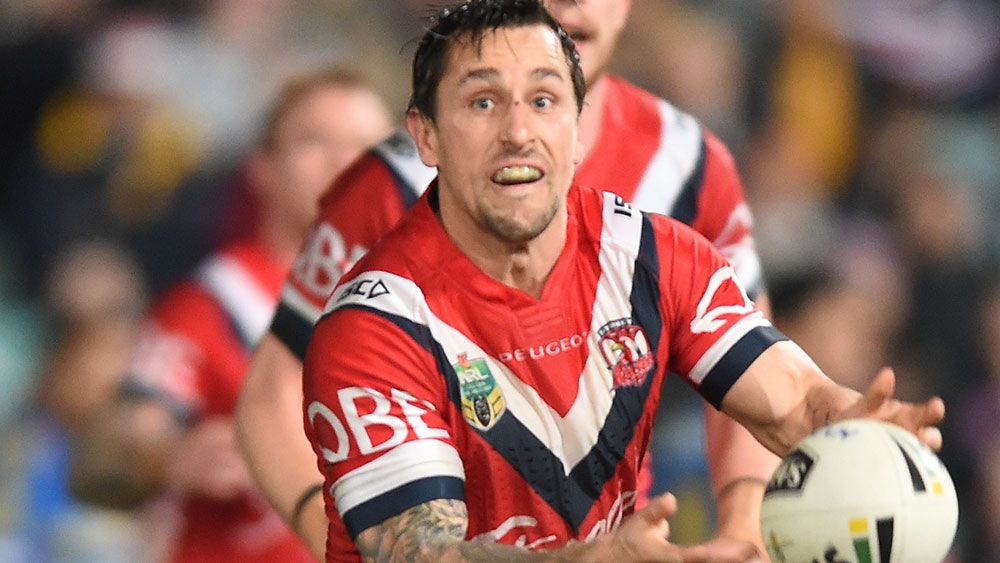 Mitchell Pearce. (AAP)