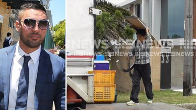 Removalists clear out mansion as Mehajer faces court