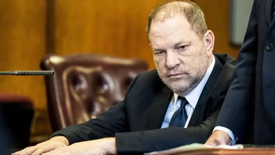 Harvey Weinstein. (AAP)