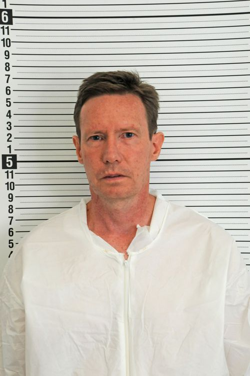 Peter Chadwick at the time of his arrest for the murder of his wife Quee Choo