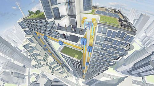The wait is over: German company develops new Willy Wonka-style lift