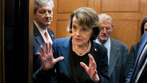 Democratic Senator from California Dianne Feinstein. (AAP)