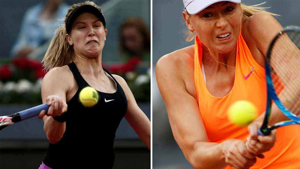 "Players are ""scared"" to criticise Sharapova says Bouchard"